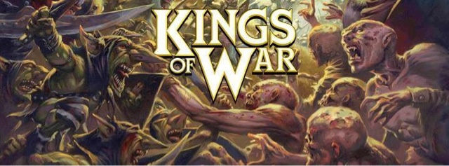Our KINGS OF WAR GT has only TWO SPOTS LEFT …