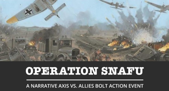 Operation SNAFU is a GO! <Event is SOLD OUT>