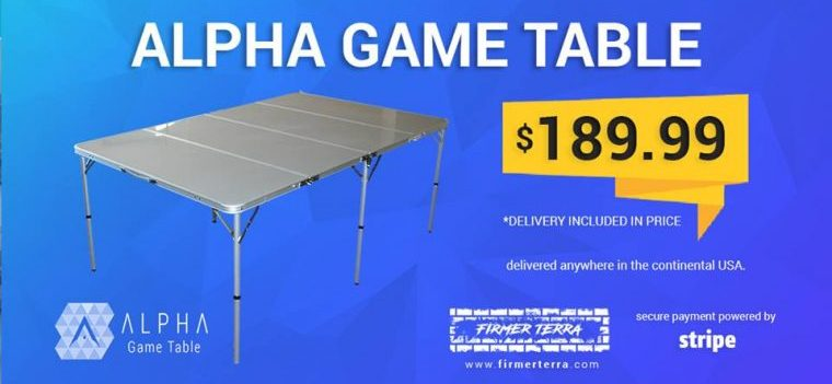 Winner of the Alpha Gaming Table – Ben Lurie!