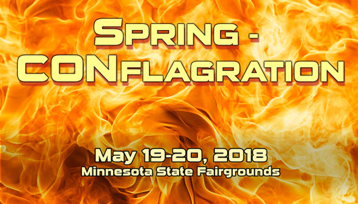 May 19-20,  2018 – Spring CONflagration 40k and AOS GTs